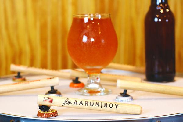 Aaron Roy | Drummer | Cincinnati | Drumstick Bottle Opener | Vic Firth | Handmade Bottle Opene | Handcrafted Bottle Opener