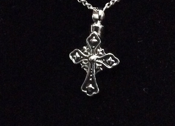 Black and Silver Cross