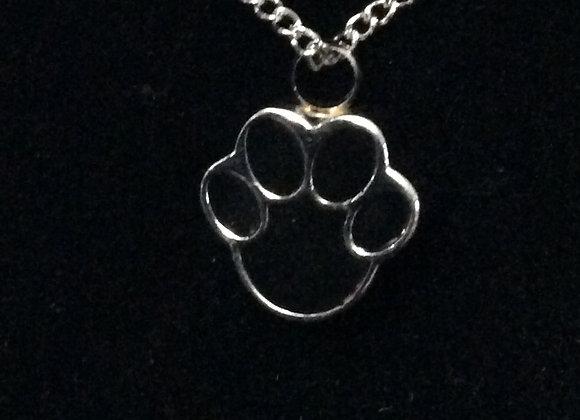 Pet Paw Necklace