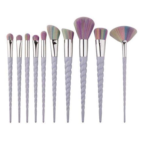 beautiful coloured make up brush set  kidskustomkreations