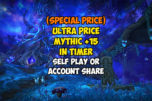 [PROMO PRICE] Mythic +15 In Timer US