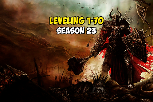 Leveling 1-70 Season 23 EU