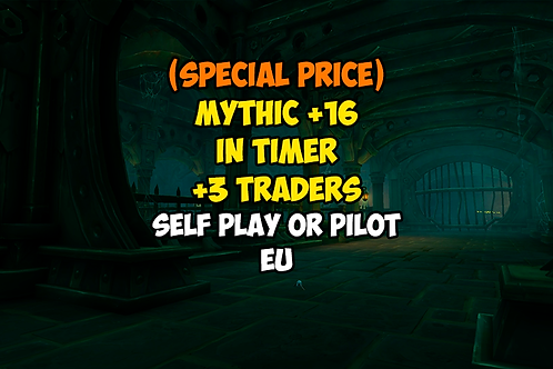 [PROMO] Mythic +16 In Timer +3 Traders