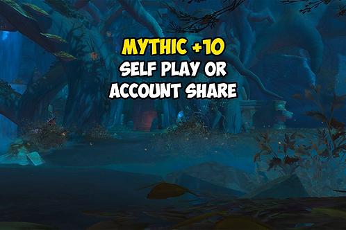 Mythic +10 (Timer FREE)