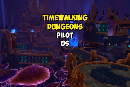 5 Timewalking Dungeons US