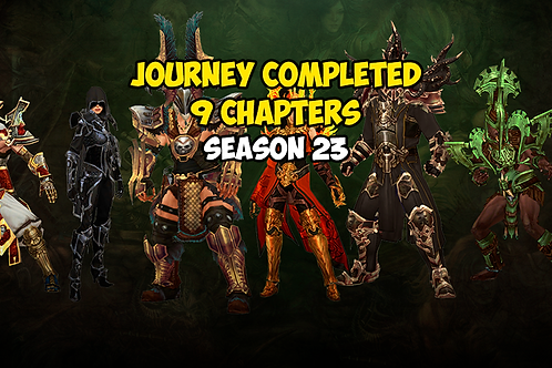 Journey Completed 9 Chapters Season 23 EU