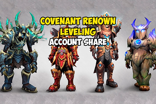 Covenant Renown Leveling