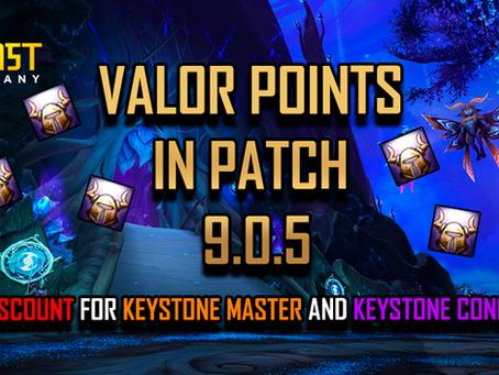 VALOR POINTS IN PATCH 9.0.5