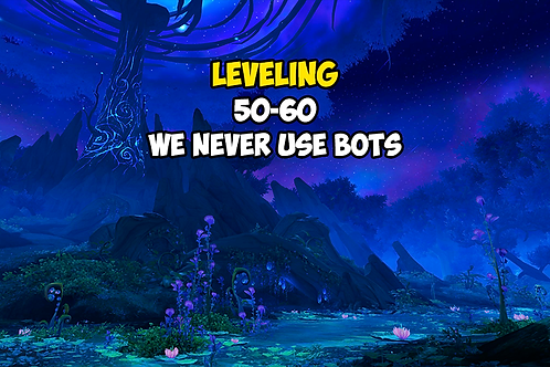 Leveling 50-60 US