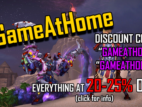 #GameAtHome Promo Ended | Site news [01]