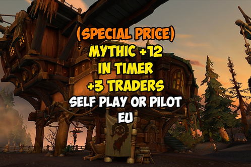 [PROMO] Mythic +12 In Timer +3 Traders