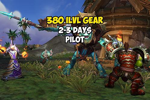 [Limited Time] 380 Gear ILVL