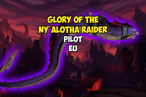 Glory of the Ny'alotha Raider