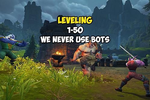 Leveling 1-50