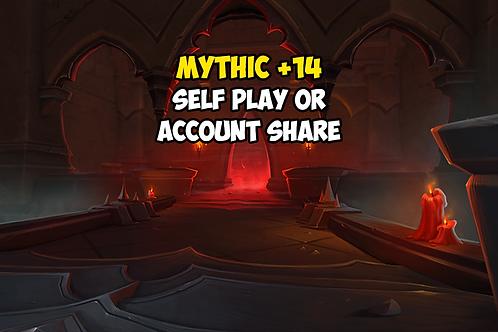 Mythic +14 (Timer FREE)