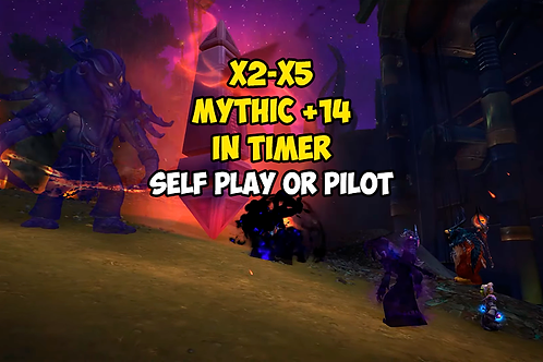X2-X5 Mythic +14 In Timer EU