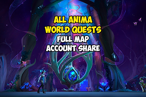 All Anima World Quests