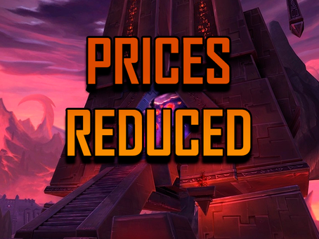 Prices Reduced | Site news [03]