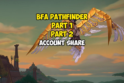 BFA Pathfinder Part 1 / Part 2 US
