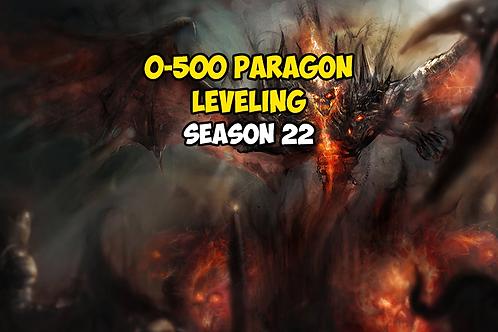 0-500 Paragon Season 22 EU