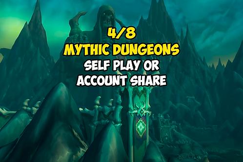 4/8 Mythic Dungeons (Weekly Bonus Event) US