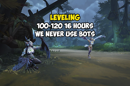 Leveling (98)100-120 12-16 Hours