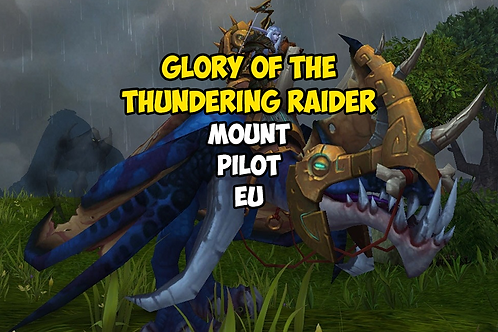 Glory of the Thundering Raider