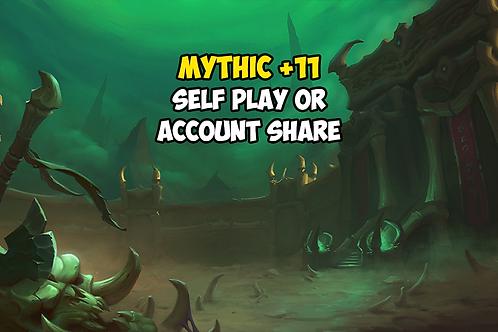 Mythic +11 (Timer FREE) US
