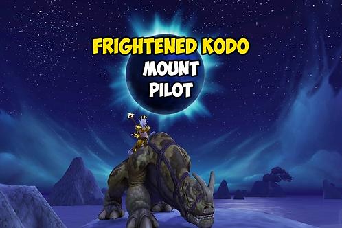 Frightened Kodo