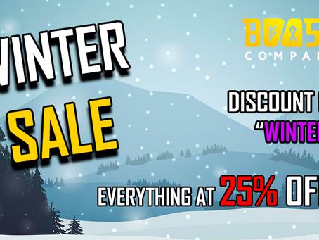 [PROMO] WINTER SALE 25% OFF