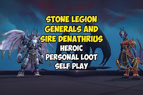 Stone Legion Generals and Sire Denathrius Heroic Kill Personal Loot US