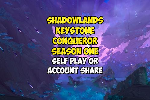 Shadowlands Keystone Conqueror: Season One