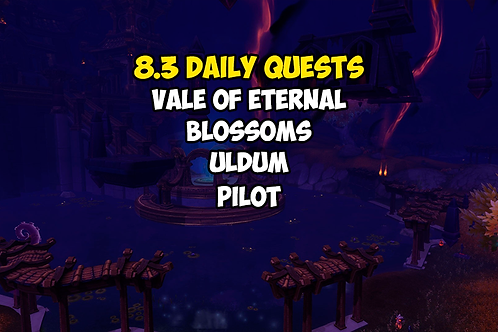 8.3 Daily Quests