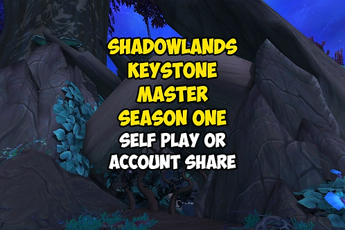 Shadowlands Keystone Master: Season One US