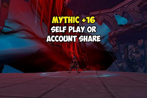 Mythic +16 US