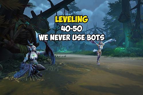 Leveling 40-50