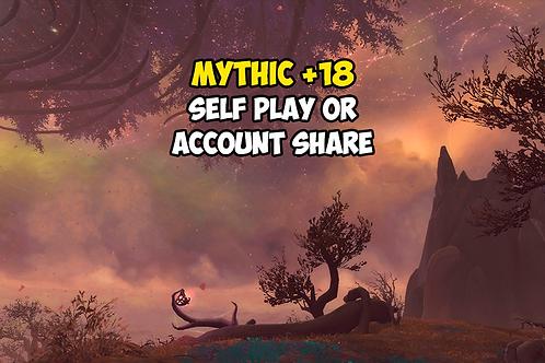 Mythic +18 US