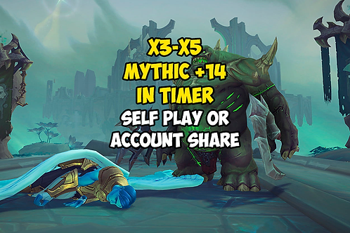 x3-x5 Mythic +14 In Timer