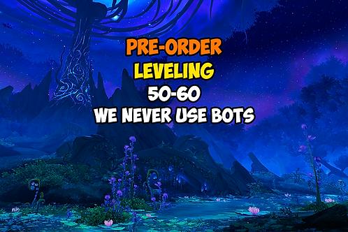 [Pre-order] Leveling 50-60