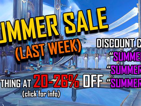 SUMMER SALE - Last Week Promo | Site news [06]