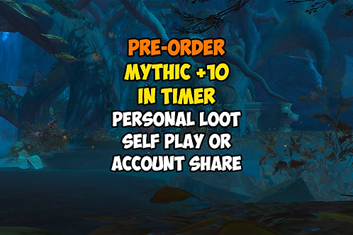 [Pre-order] Mythic +10 In Timer