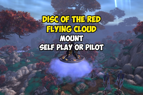 Disc of the Red Flying Cloud