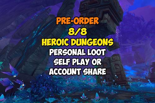 [Pre-order] 8/8 Heroic Dungeons PL