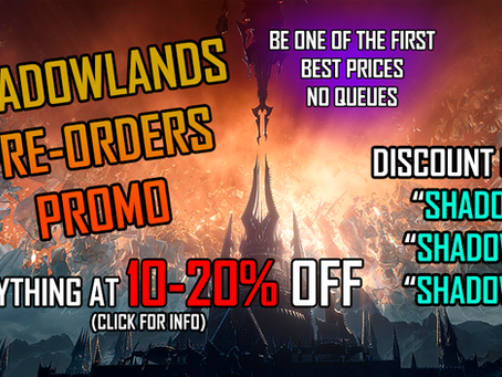 [PROMO] Pre-Orders Shadowlands 10-20% OFF