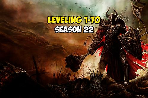 Leveling 1-70 Season 22 EU