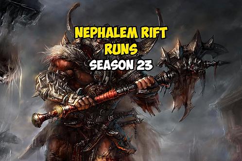 10 Nephalem Rifts Runs Season 23 EU