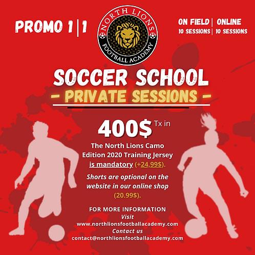 Hiver 2021 - École de Soccer | Soccer School Private Sessions - Winter 2021