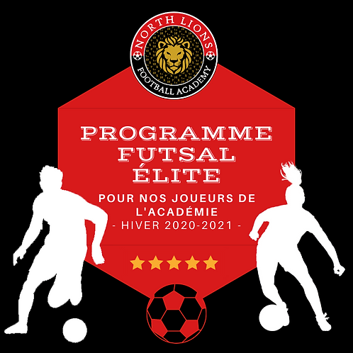 U11/U12 - Elite Futsal Program Winter 2020-2021