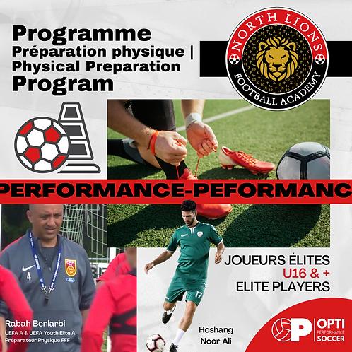 ELITE - Programme Préparation Physique | Physical Preparation Program