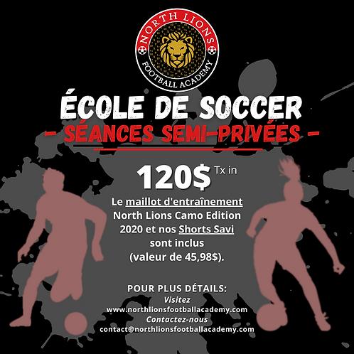 École de Soccer - Printemps 2021   Soccer School - Spring 2021